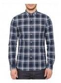 FARAH VINTAGE Fal Long Sleeved Check Shirt Yale