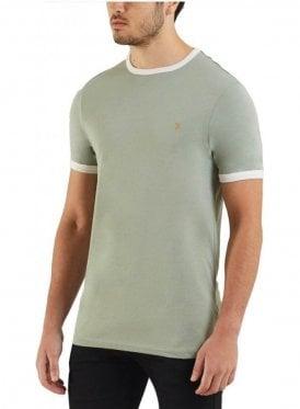 Groves Ringer S/s Tshirt Green Balsam
