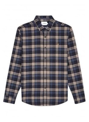 Radley Long Sleeve Check Shirt Canvas