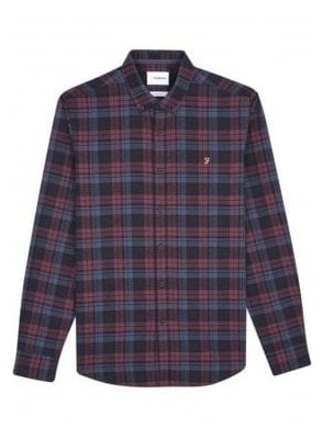 Radley Long Sleeve Check Shirt Farah Red