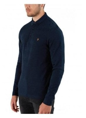 Stapleton Long Sleeve Polo True Navy