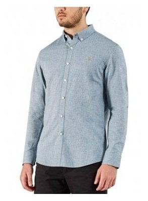 Steen Slim Long Sleeve Shirt Stellar