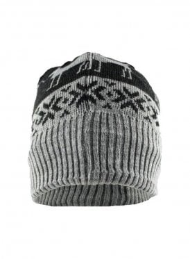 Fleece Lined Grey Ski Hat