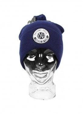 Beanie Ski Hat Navy