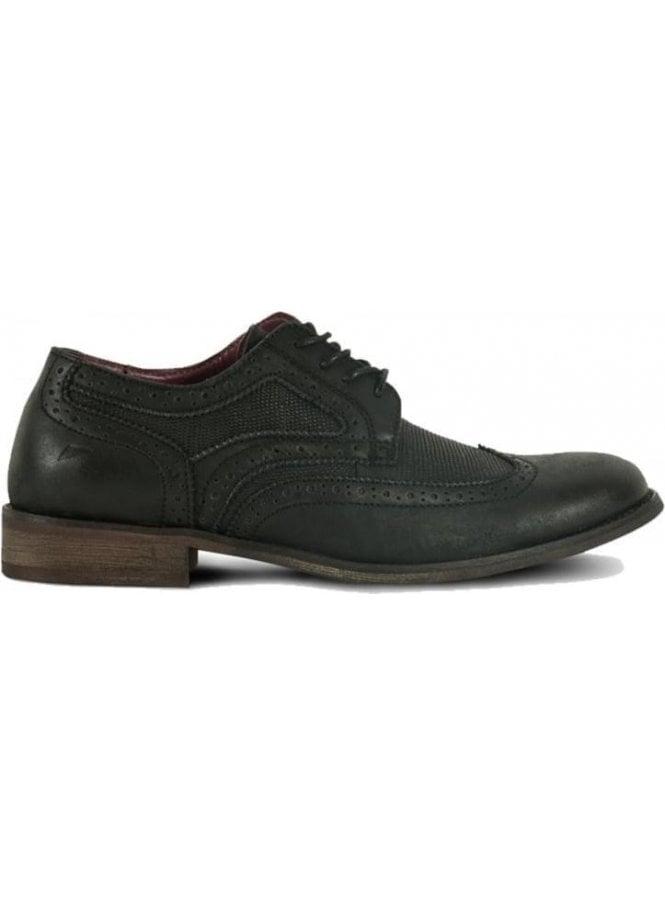 FRONT Brogue Style Shoe Black