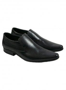 Front Sultan Black Shoes