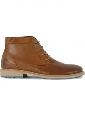 Hampstead Leather Lace Up Boot Tan