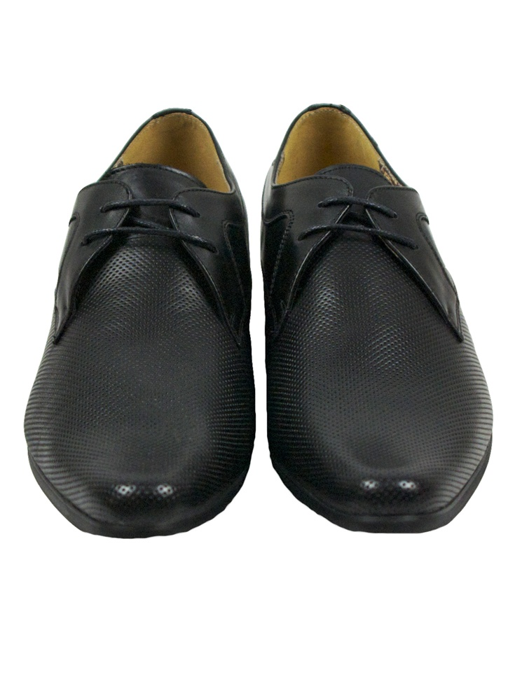 76b4e6d3211 Front Ripley Black Shoes - Footwear from Ghia Menswear UK