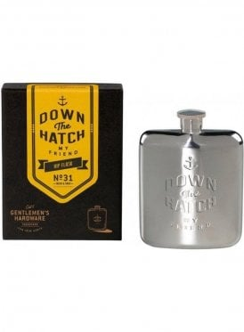 Down The Hatch My Friend 6oz H Stainless Steel