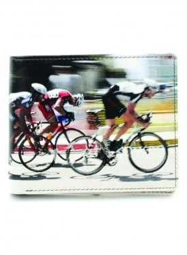 Cyclists Gents Notecase Wallet Cream