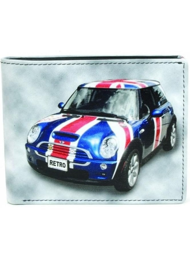 GOLUNSKI Flag Car Wallet Black