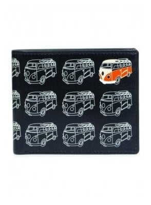 Gents Camper Van Wallet Black