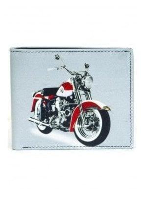 Gents Motorbike Wallet White