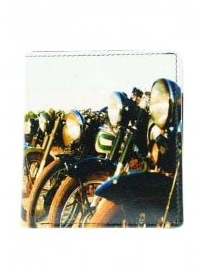 Gents Old Motorbikes Wallet Black