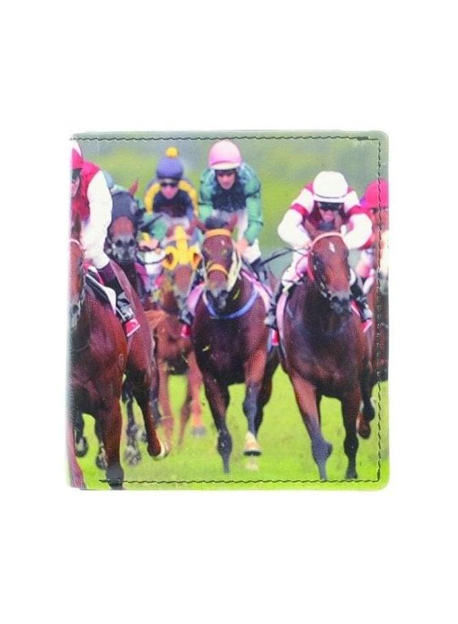 GOLUNSKI Horse Racing Wallet Black