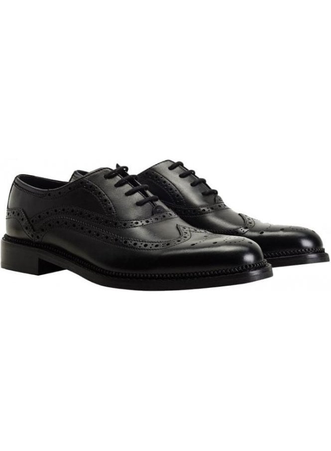 GOODWIN SMITH Chatsworth Oxford Brogue Black