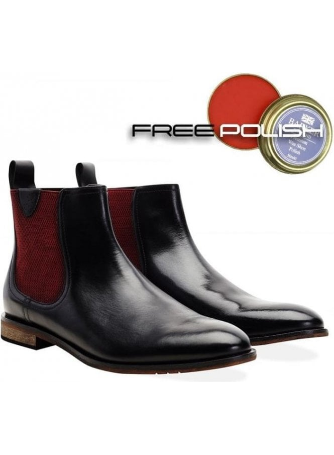 GOODWIN SMITH Hurstwood Chelsea Boot Black