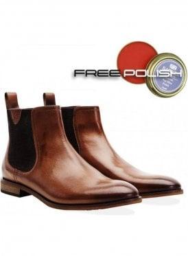 Hurstwood Chelsea Boot Tan