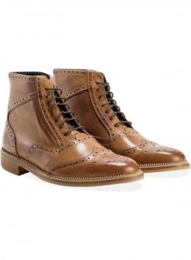 Lumb Brogue Boot Tan