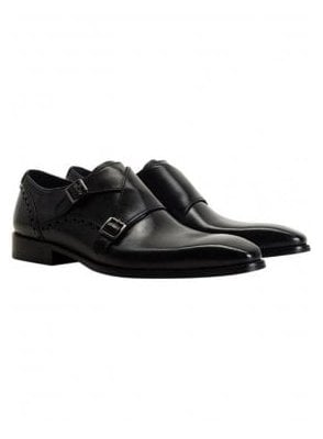 Ribchester Monkstrap Black
