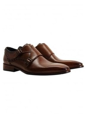 Ribchester Monkstrap Dark Tan