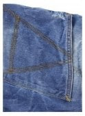 GSTAR A-Crotch Tapered with Light Aged Denim Jean