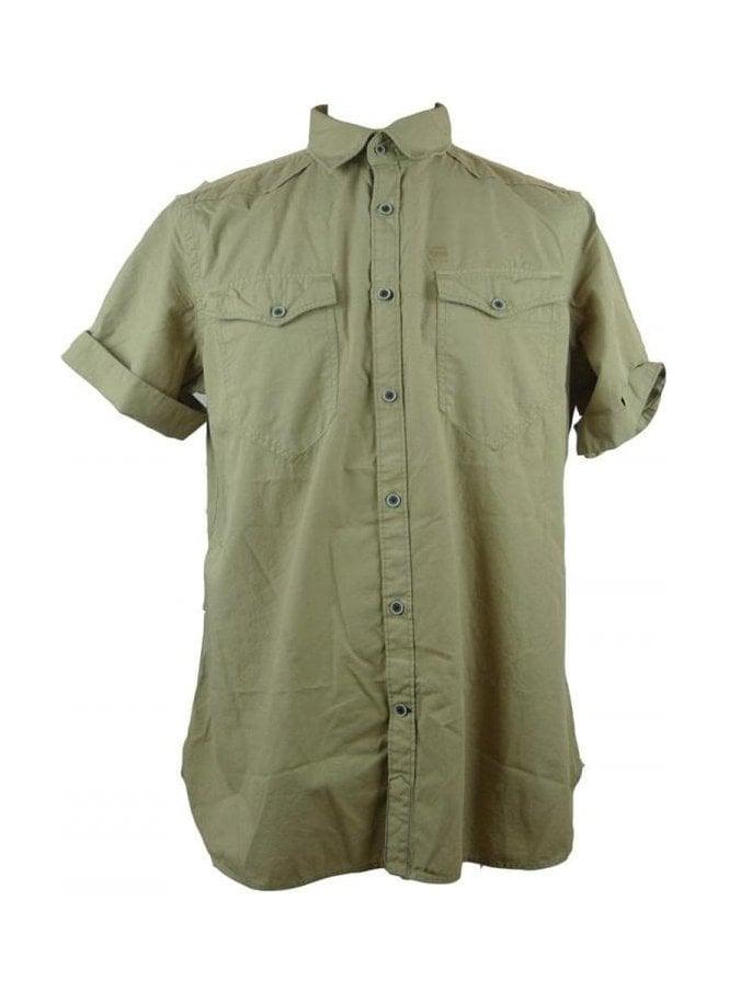 GSTAR Green Short Sleeve T-Shirt