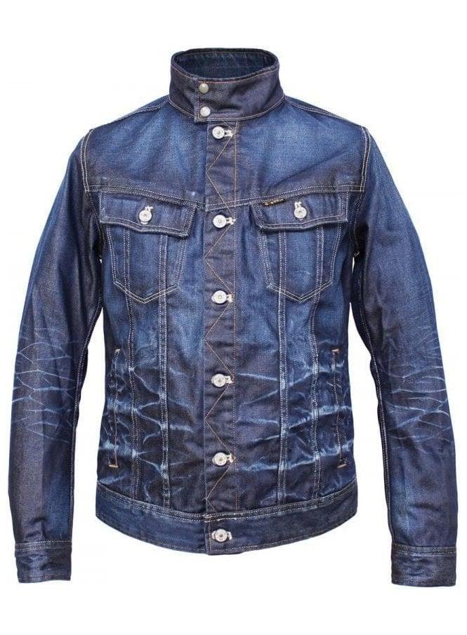 GSTAR Slim Tailor Stand 3d Jacket Dark Aged