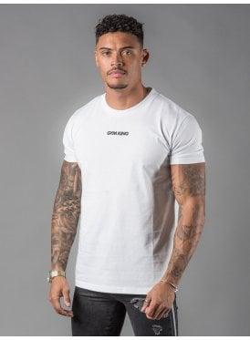 fb9addd48dc44 Gk Brand Carrier T-Shirt - White New. Gym King ...