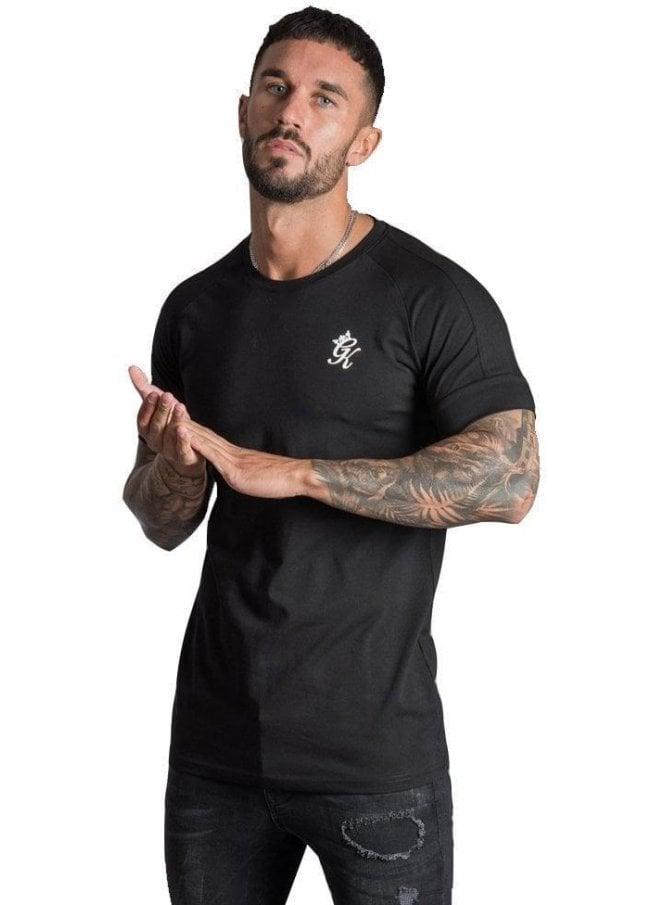 GYM KING Gk Core Plus T Shirt Black