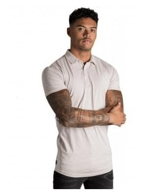 Gk Shortsleeve Jersey Polo Shirt - Ashes Of Roses