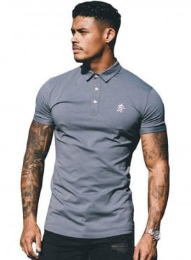 Gk Shortsleeve Jersey Polo - Stormy Weather