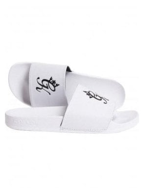Gk Sliders White/black
