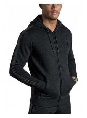 Gk Taped Tracksuit Top Black Black