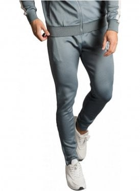 Gk Tapered Poly Tracksuit Bottoms - Stormy Weather/Ashes Of Roses