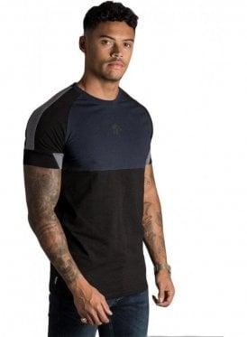 Lombardi T-Shirt Black/Navy Nights