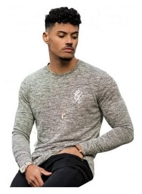 Long Sleeved Undergarment Knit Top Grey
