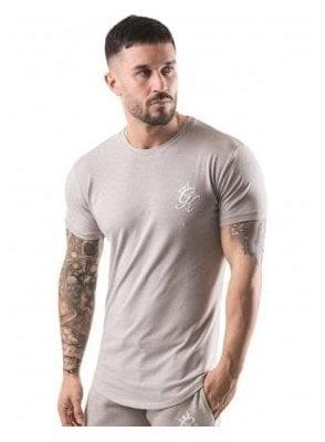 Longline Tshirt Oatmeal
