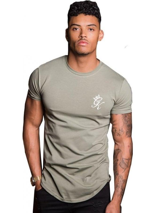 GYM KING Longline Tshirt Vetiver