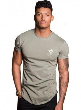 Longline Tshirt Vetiver