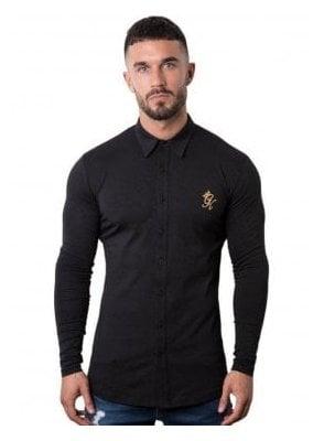 Longsleeve Jersey Shirt - Black/Gold