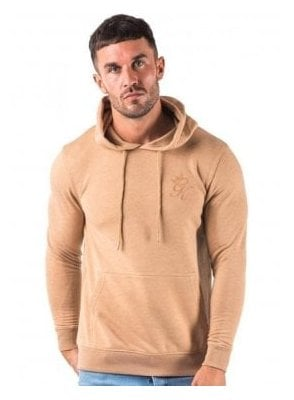 Gym King Over The Head Hoodie Top Champagne Beige