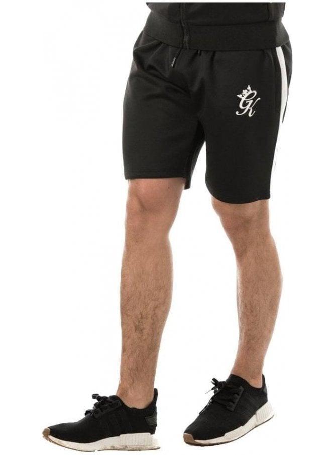 GYM KING Poly Shorts Black/white