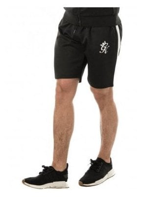 Gym King  Poly Shorts Black/white