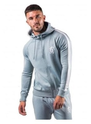 Poly Track Zip Top Mirage Blue