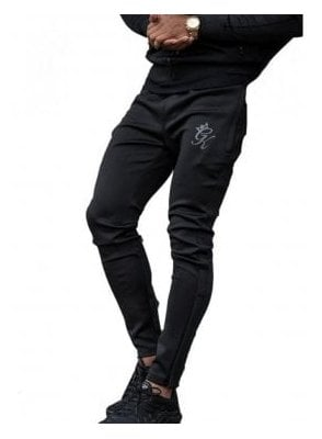 Poly Tracksuit Bottoms Black