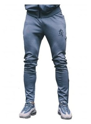 Poly Tracksuit Bottoms Steel/black