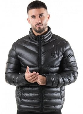 Reign Quilted Jacket Black