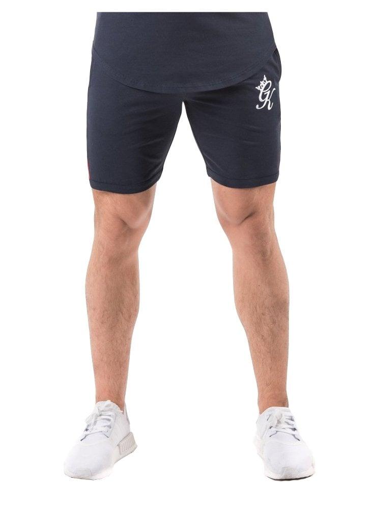 f241bcb749 Gym King Retro Jersey Shorts Navy Nights - Designer menswear