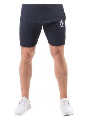 Gym King Retro Jersey Shorts Navy Nights